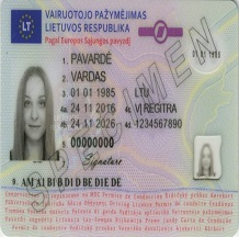 Buy Lithuanian Driver License