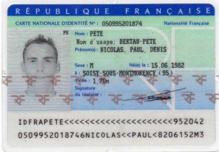 Buy French Fake ID
